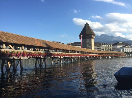 Famous bridge Luzern
